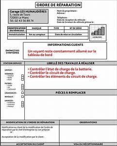 Ordre De Réparation : o r educauto ~ Medecine-chirurgie-esthetiques.com Avis de Voitures