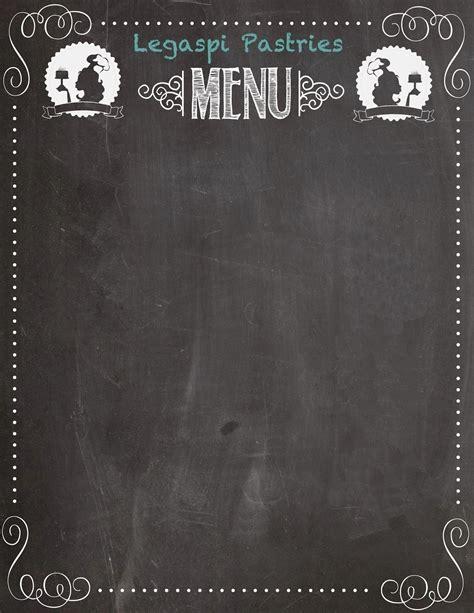 blank menu blank menu board printables and menu