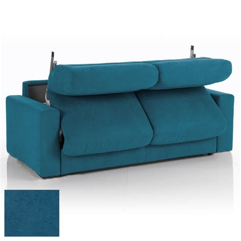 canap d houssable beautiful canape bleu convertible images design trends
