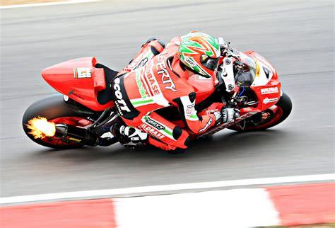 John Laverty In British Superbike Race