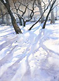 Watercolor Paintings Landscapes