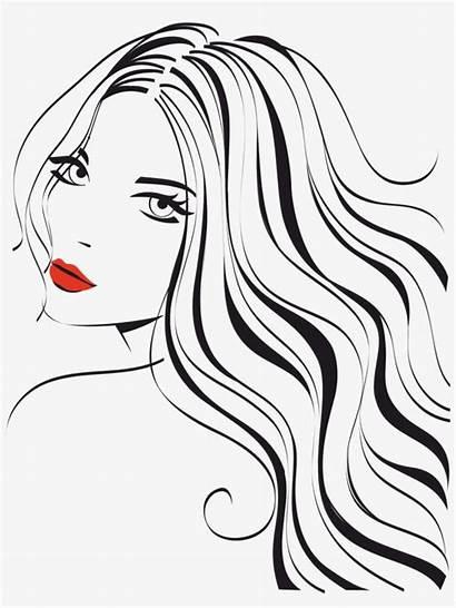 Beauty Hair Salon Clip Belleza Silhouette Para