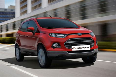 Ford India Recalls 16,444 Units Of Compact Suv Ecosport