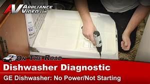 Dishwasher Diagnostic No Power  U0026 Not Starting