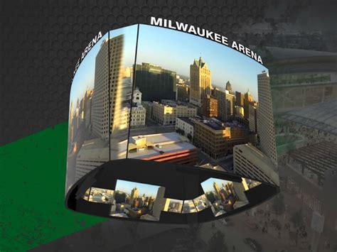 Bucks introduce NBA's largest center-hung scoreboard for ...