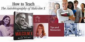 Free Teaching Guide  The Autobiography Of Malcolm X