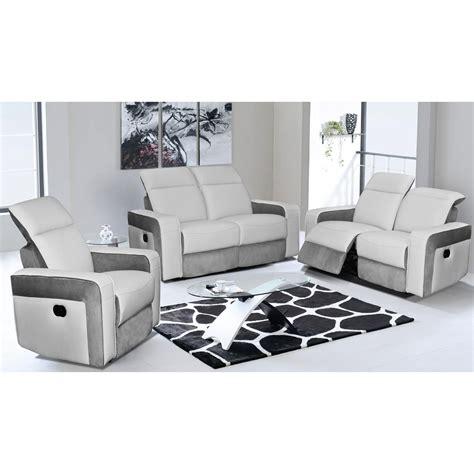 canap cuir relax lectrique canape 3 places 2 relax maison design wiblia com