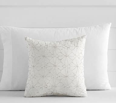 Spiral Beaded Pillow Cover Pottery Barn by Beaded Floral Decorative Pillow Pottery Barn