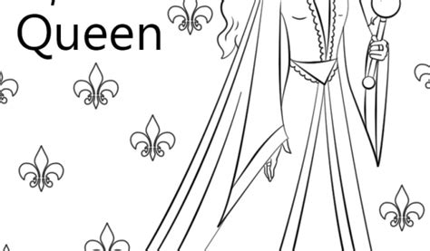 Get This Letter Q Coloring Pages Queen