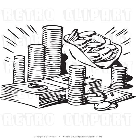 money clipart black and white free black and white money clipart 15