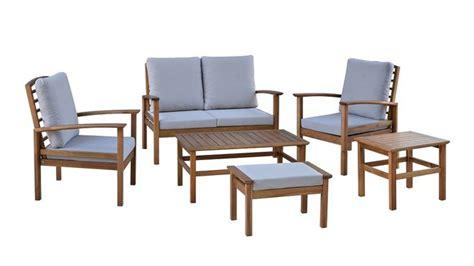 ensemble chaise et table de jardin nouvelle collection de mobilier de jardin chez carrefour