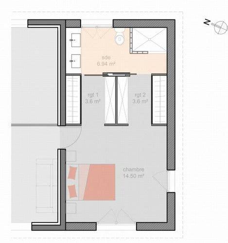 plan chambre parentale suite parentale immo bedrooms master