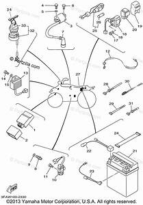 Yamaha Atv 2002 Oem Parts Diagram For Electrical