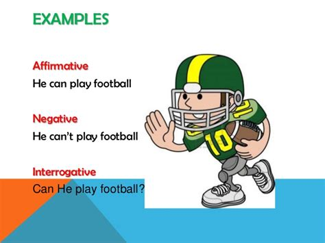 modal verb cansports