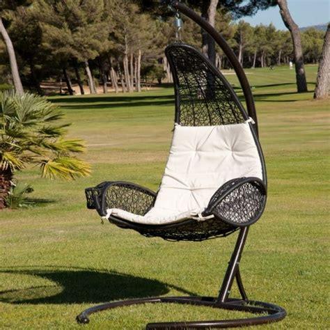 chaise suspendue rio de jardiland mobilier de jardin
