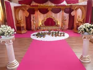 salle de rã ception mariage mariage indien decoration