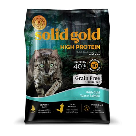 solid gold cat food solid gold high protein grain and gluten free cat food
