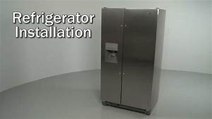 Whirlpool Refrigerator Installation  Model  Wrs325fdam