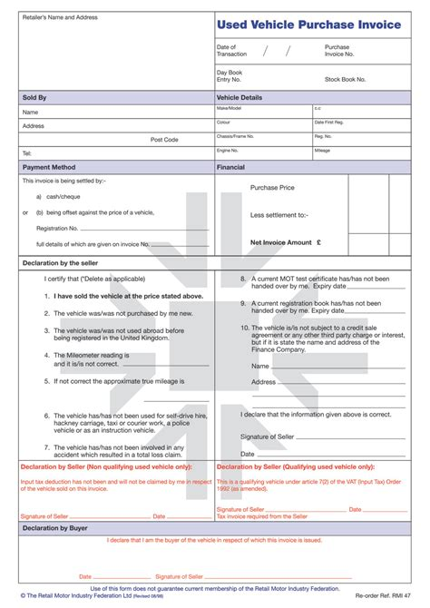 Rmi047p  Used Vehicle Purchase Invoice Pad  Rmi Webshop. Lackland Afb Graduation Dates 2017. Event Planning Budget Template. Incredible Network Control Engineer Cover Letter. Employee Discipline Form Template. Nc Eviction Notice Template. Foot Locker Receipt Template. Fascinating Shift Leader Cover Letter. 8 Hour Shift Schedule Template