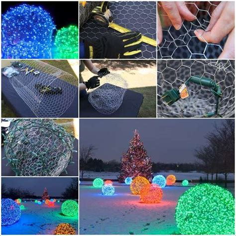 chicken wire christmas lights top 30 lovely and cheap diy crafts sure to wow you page 2 homedesigninspired