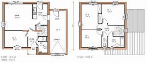 plan maison a etage 4 chambres 12 gratuit kirafes With plan maison etage 4 chambres gratuit