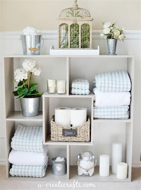 sauder bathroom shelves  create
