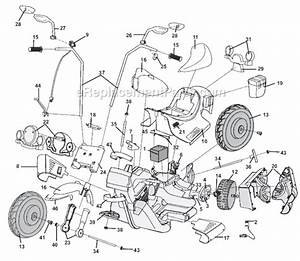 Power Wheels 73218-9993 Parts List And Diagram