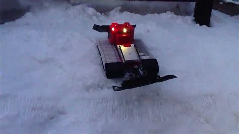 gatto delle nevi in the panchine gatto delle nevi telecomandato 2
