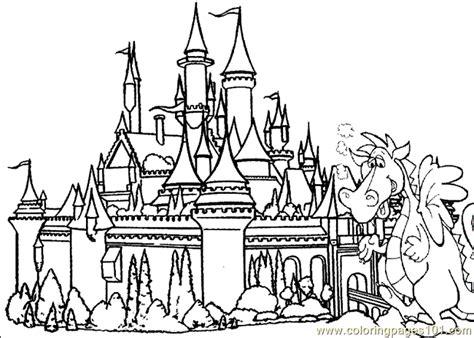 castle coloring page  coloring pages printables  kids