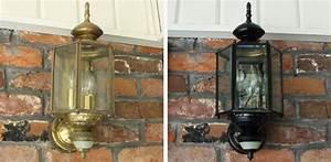 how to paint outdoor light fixtures today39s homeowner With painting an outdoor light fixture