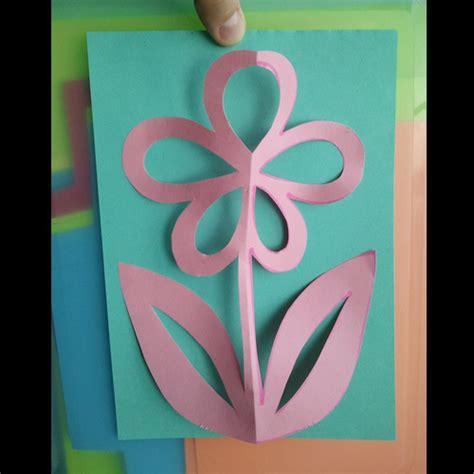 kirigami flower     cut  card papercraft