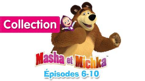 masha et michka collection 1 6 10 233 pisodes 30 minutes de dessins anim 233 s