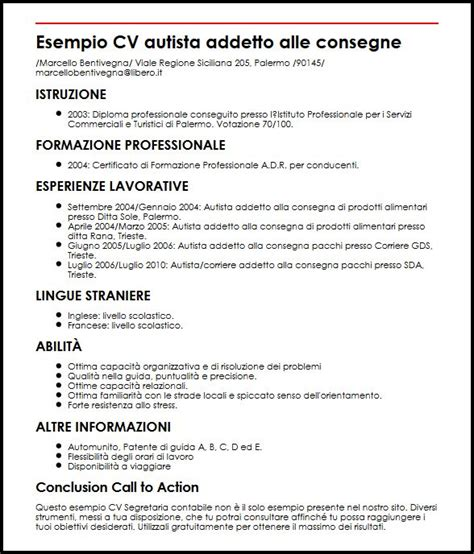 Esempio Cv Autista Addetto Alle Consegne Curriculum Vitae. Cover Letter Pdf. Cover Letter Examples Director. Cover Letter Example Non Profit. Sample Letter Of Resignation Due To Family Reasons. Curriculum Vitae Da Compilare Sul Cellulare. Cover Letter Sample For Sales Account Manager. Resume Example Gpa. Christmas Letter Word Template Free