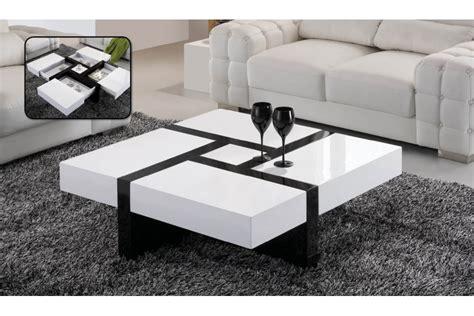 table basse ikea laque blanc le bois chez vous