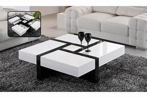 Table De Chevet Blanche Ikea : table basse ikea laqu blanc le bois chez vous ~ Nature-et-papiers.com Idées de Décoration