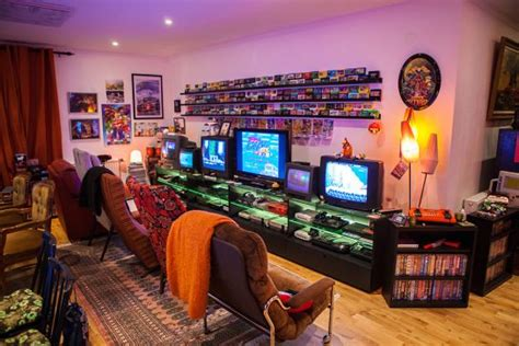 geekiest  retro games rooms arcade punks