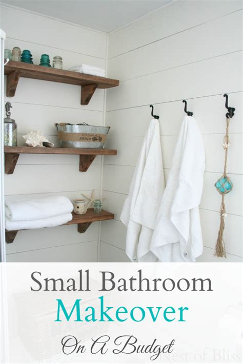 Small Bathroom Makeovers On A Budget by Small Budget Bathroom Makeover