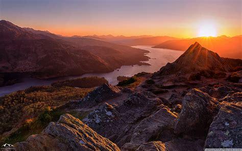 Beautiful Sunset, Scotland 4k Hd Desktop Wallpaper For 4k