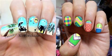 Awesome Summer Nail Art Designs & Ideas For Girls 2013