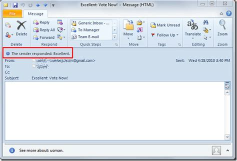 Create Reply Template Outlook 2010 - Costumepartyrun