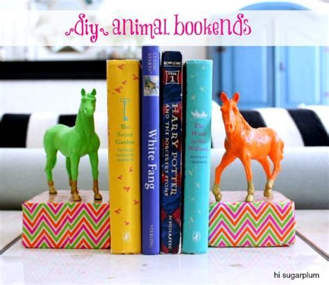 14 Easy DIY Bookends You Can Make in One Day   Snappy Pixels