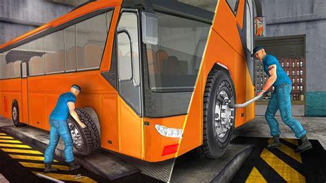 bus mechanic simulator game   amazing gamez android gameplay hd youtube