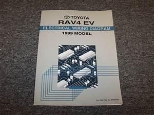 1999 Toyota Rav4 Ev Electric Vehicle Electrical Wiring