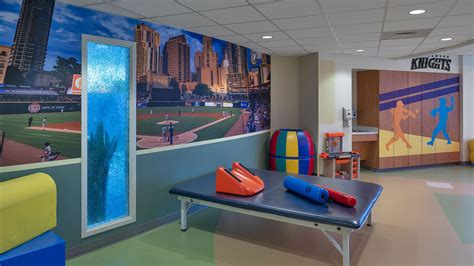 levine childrens hospital therapy room projects work
