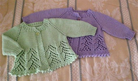 knitting baby sweater day to day fo more baby sweaters