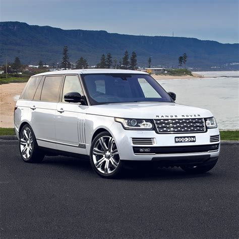 Photos Range Rover Vogue White Cars