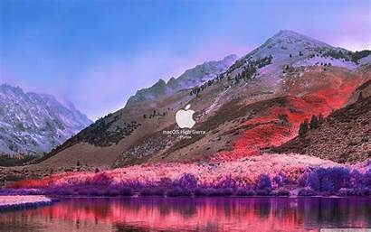 Sierra Macos Mac Os Wallpapers Purble 4k