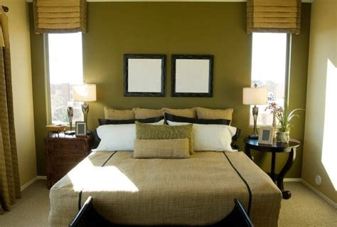 olive green brown and blue bedroom bedroom with green