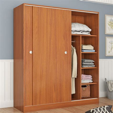 Wooden Wardrobe by China Customized Size Mdf Particle Board Material Custom