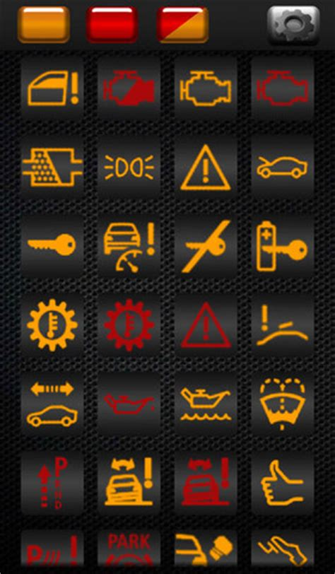 Car Warning Symbol Meanings, Car, Free Engine Image For
